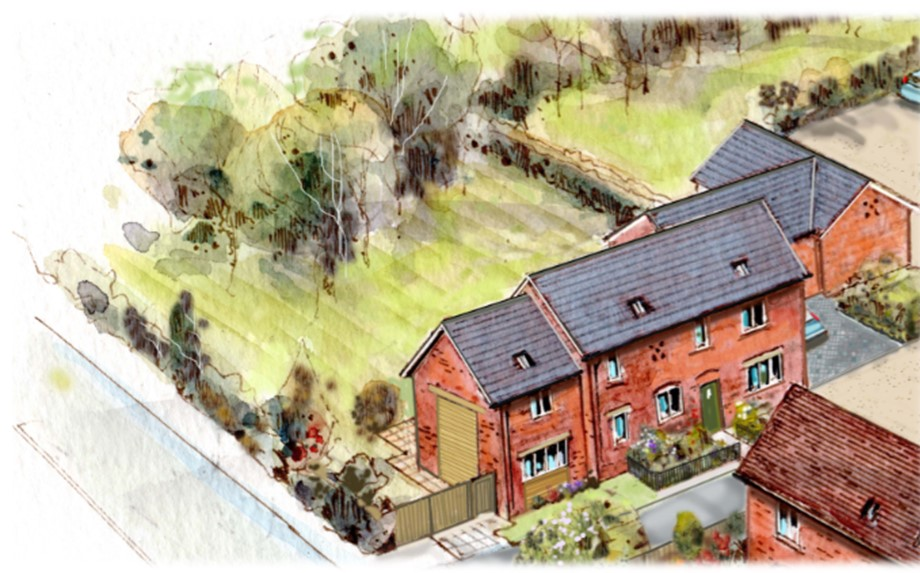 Park view, 1 Wifel Green, Wilson, Leicestershire